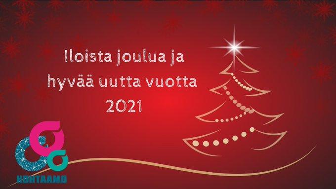 Kuva Iloista joulua ja hyvää uutta vuotta 2021