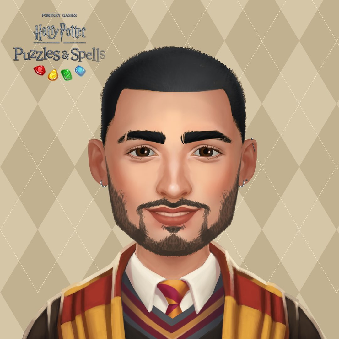 New avatar customizations are coming, and here's a sneak peek; What do you think? Looks like me? Join me in playing @HPPuzzlesSpells here: . Take a screenshot of yours and share below! #HarryPotter #PuzzlesAndSpells #Sponsored