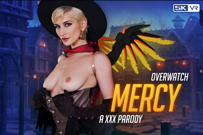 📢NEW RELEASE📢 @skyebluewantsu aka Mercy realizes you have a wounded arm. Despite being enemies, she'll