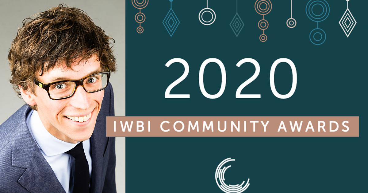 """Résultat de recherche d'images pour """"Time beuker IWBI 2020 Community awards"""""""