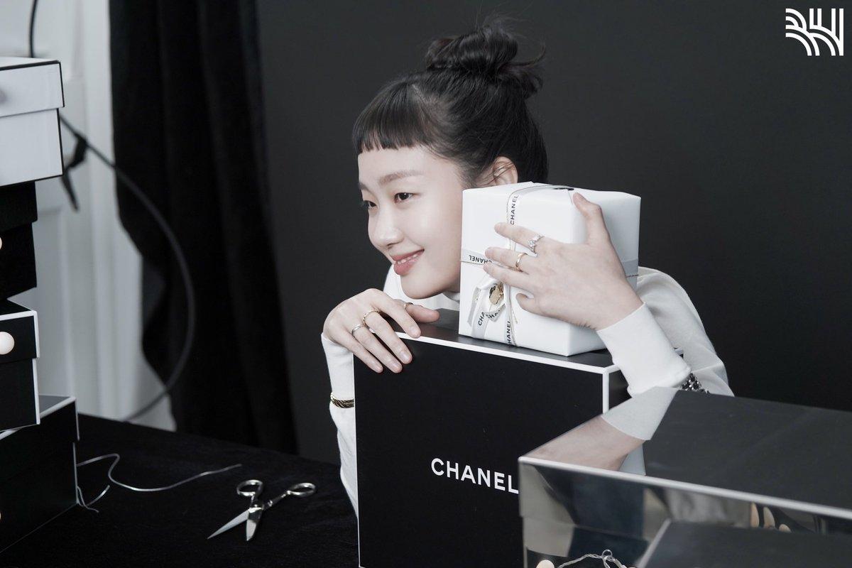My girl #KimGoEun #CHANELFineJewelry #CHANELWatches #VogueKorea