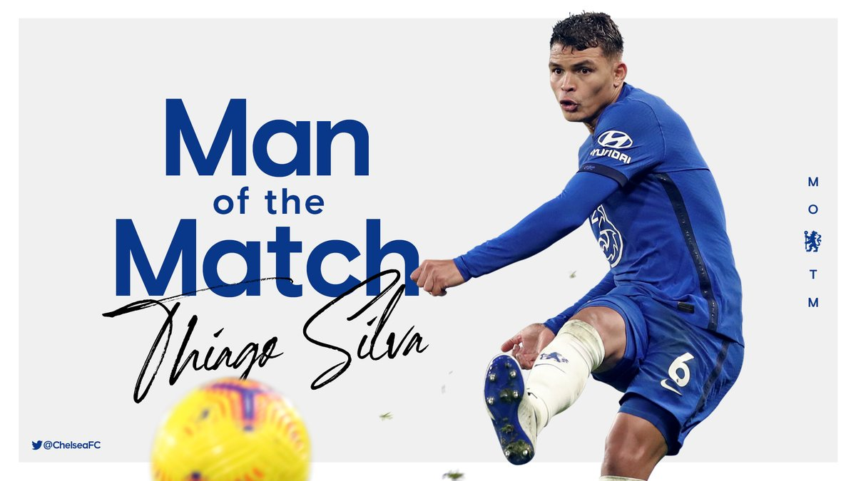 Man of the match. @TSilva3 👏