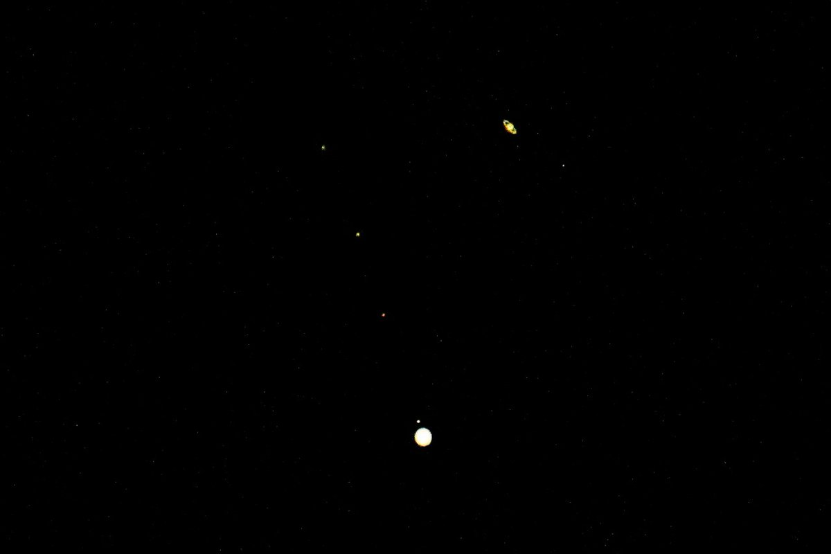 How many of you saw the Great Conjunction of Jupiter and Saturn? A rare occurrence visible to the human eye after about 800 years. The waltz of the celestial planets is beautiful.  #GreatConjunction2020  #jupitersaturnconjunction   Pic Credit: Mr. Sudhir Kotwal