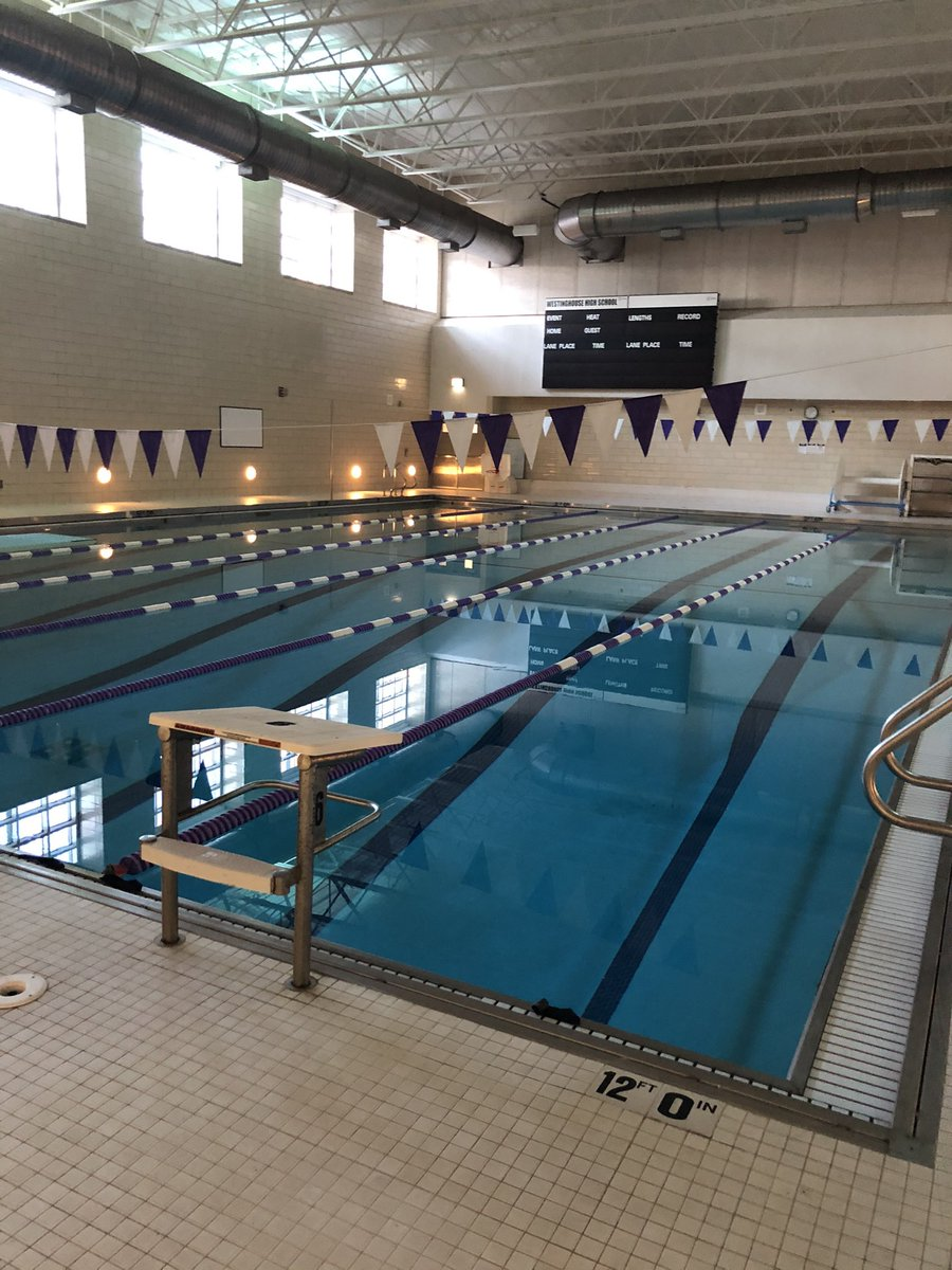 Last week's location was the natatorium!