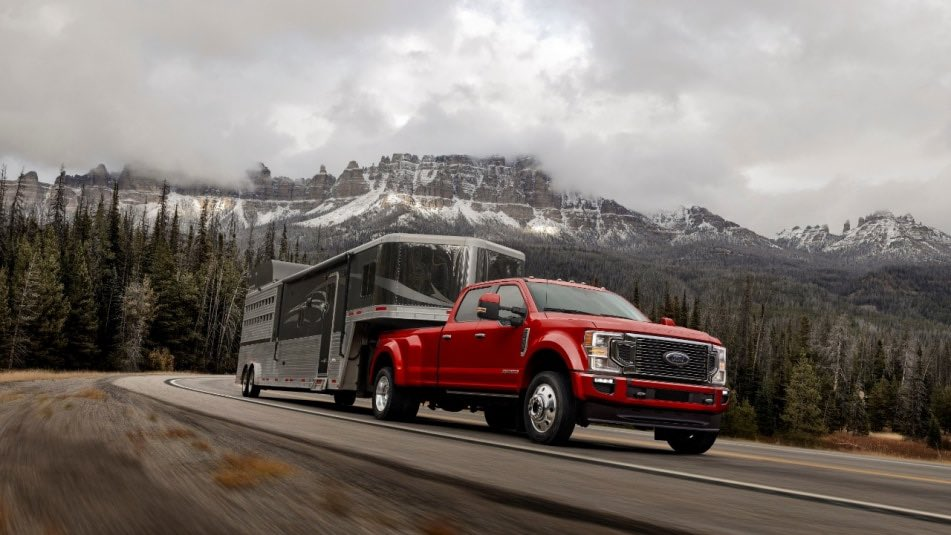 2020 Ford F-Series Super Duty takes towing and power to the next level. #NTXFord #Ford #SuperDuty #FSeries