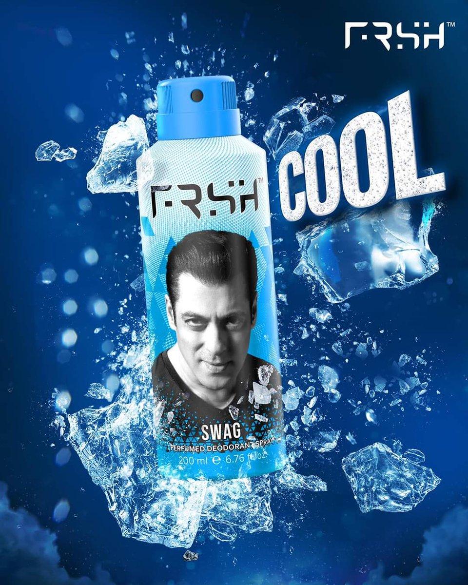 Har din ek naya tevar. Har din ek naya josh! Aapke apne FRSH deodorants; get them here - #rahofrshrahosafe - #Salmankhan
