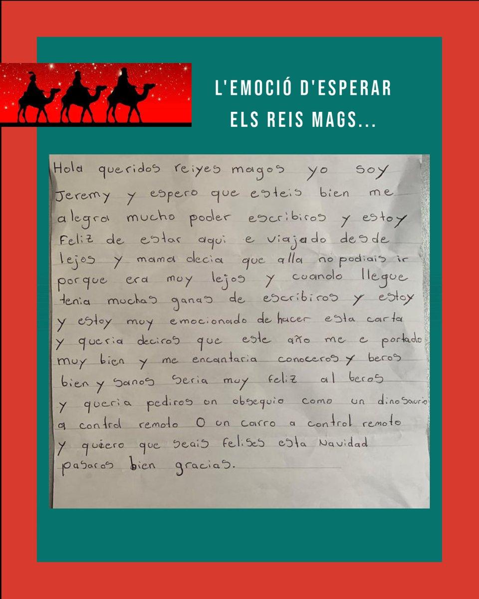 Amb gran il·lusió els Gavines han escrit la carta als Reis. Els patges reials ja treballen des de fa setmanes per a fer de la nit de Reis, dels nens i nenes del Gavina, la nit més màgica de l'any. 👑👑👑 Ajuda'ns a fer-la realitat amb una donació 👉