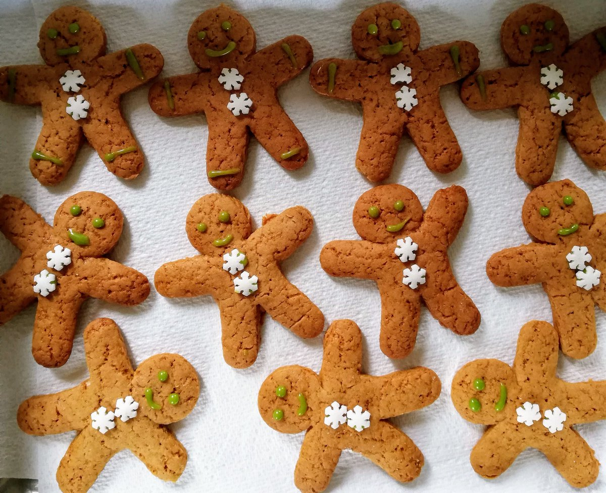 My merry troupe of Dancing gingerbread men