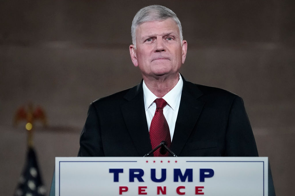 Replying to @newsmax: Franklin Graham: I 'tend to believe' Trump is right about the election