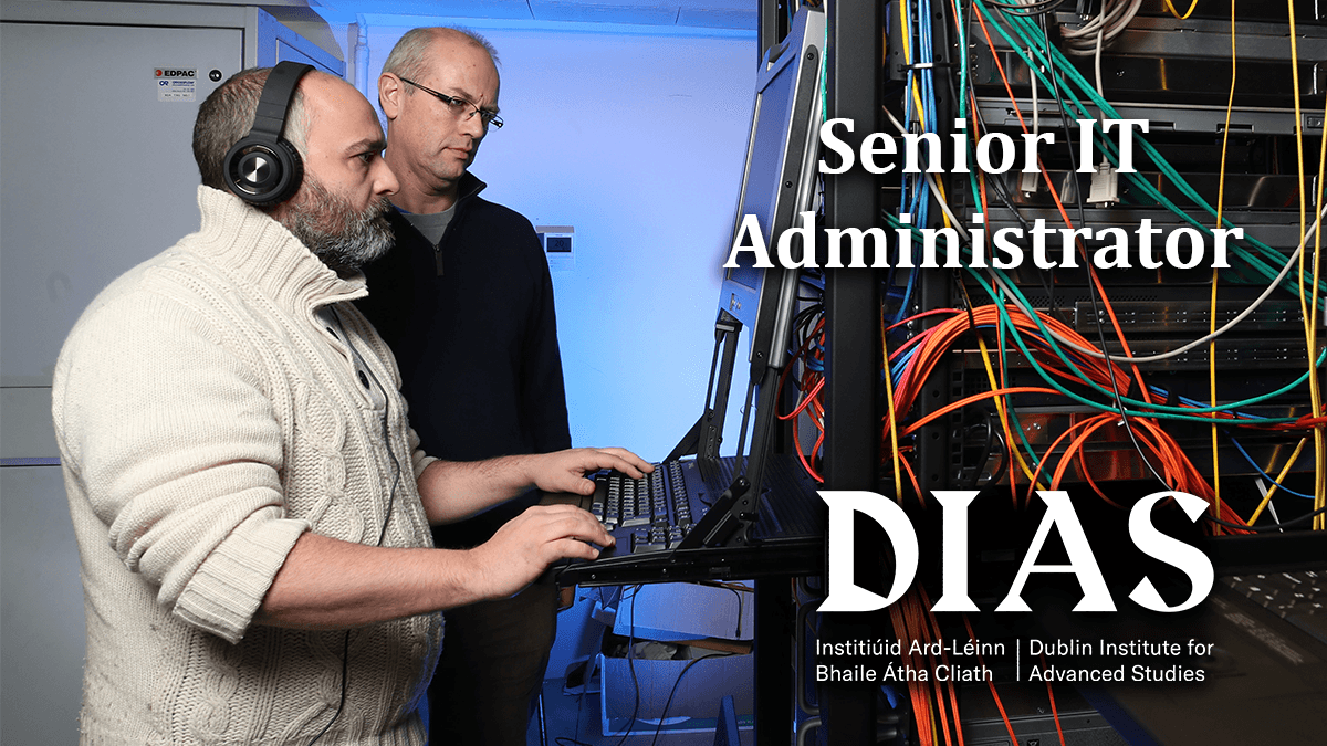 test Twitter Media - Are you considering a new job in the new year?  DIAS is hiring an experienced Senior IT Support Manager who will join a small and highly dedicated team.   Closing date is 08 January 2021, more details: https://t.co/yCRcb79CiH   #jobfairy #newyear #newjob https://t.co/SV2mepIyKP