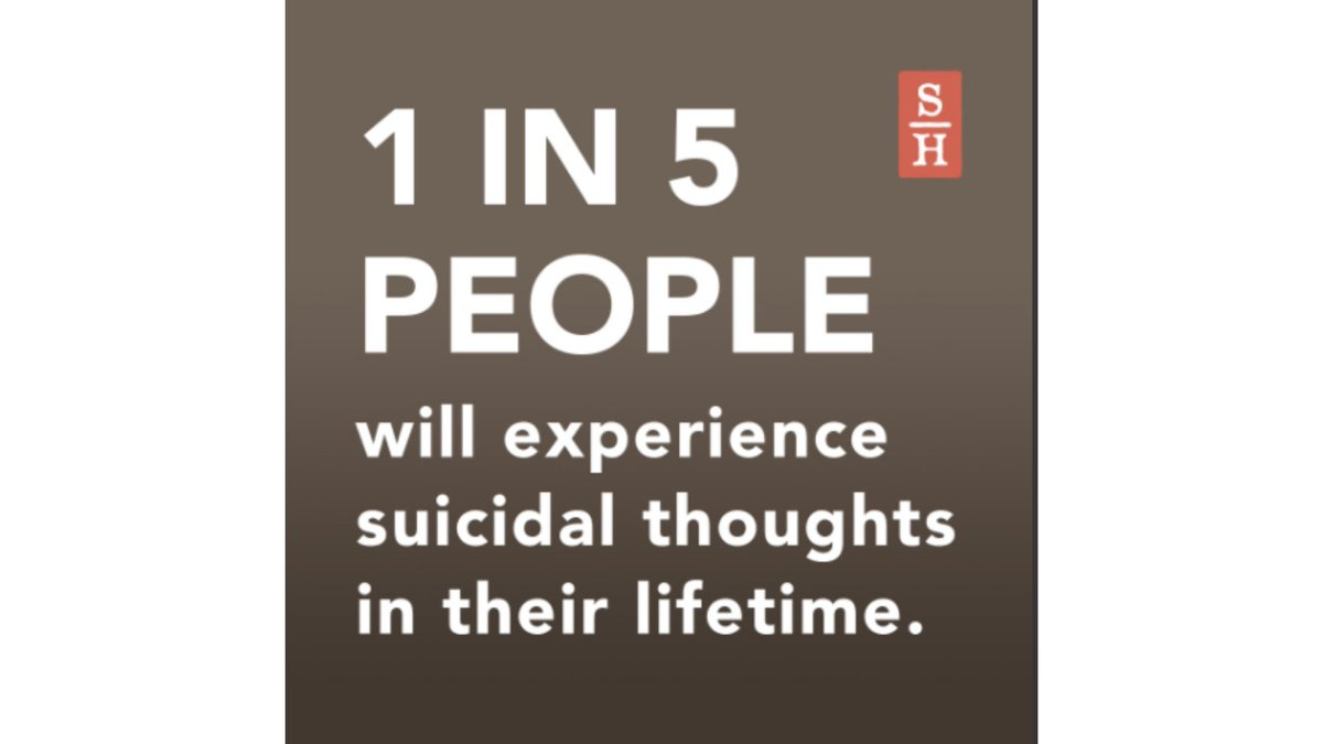 1 in 5 people will experience suicidal thoughts in their lifetime. It's okay to ask for help. Call 440-578-8200.  #WorldSuicidePreventionDay