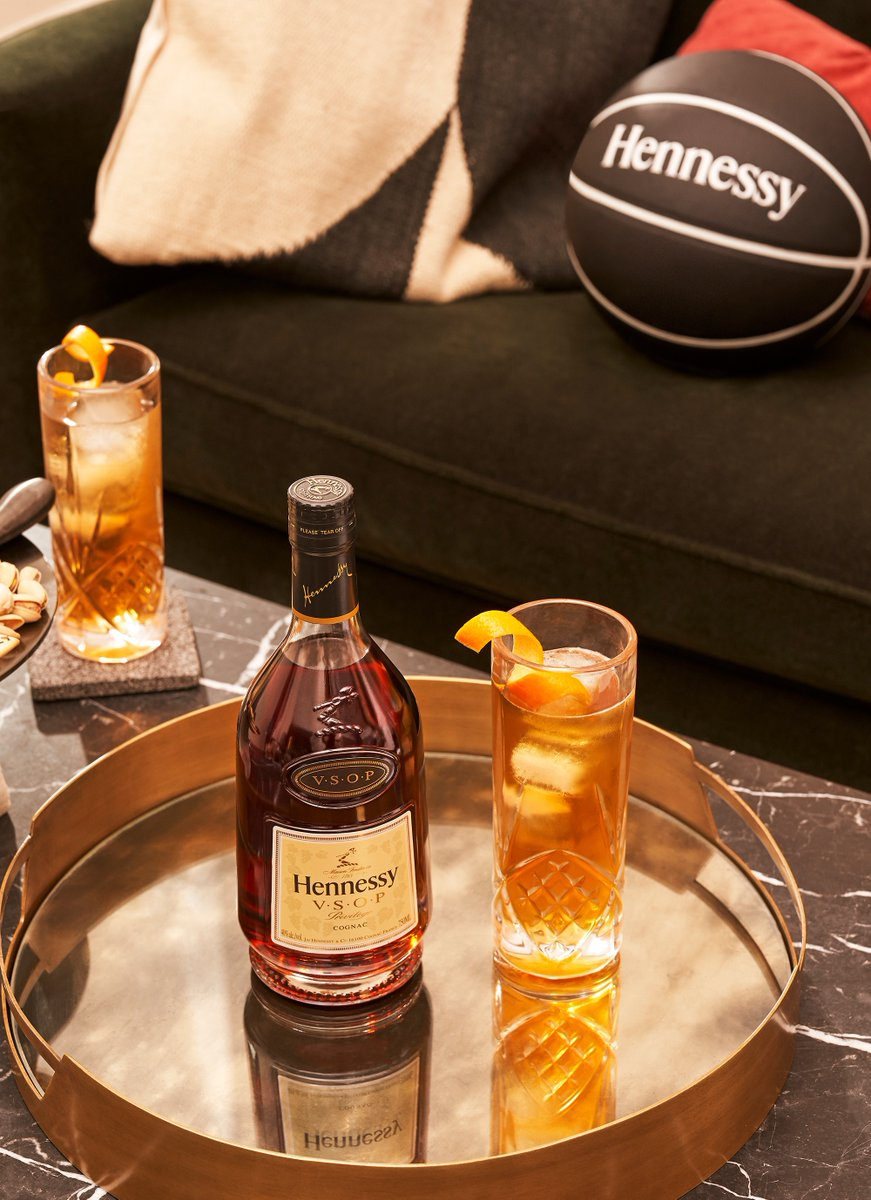 With the NBA back, there's only one gift left to give! Spread Holiday cheer with @HennessyUS. →