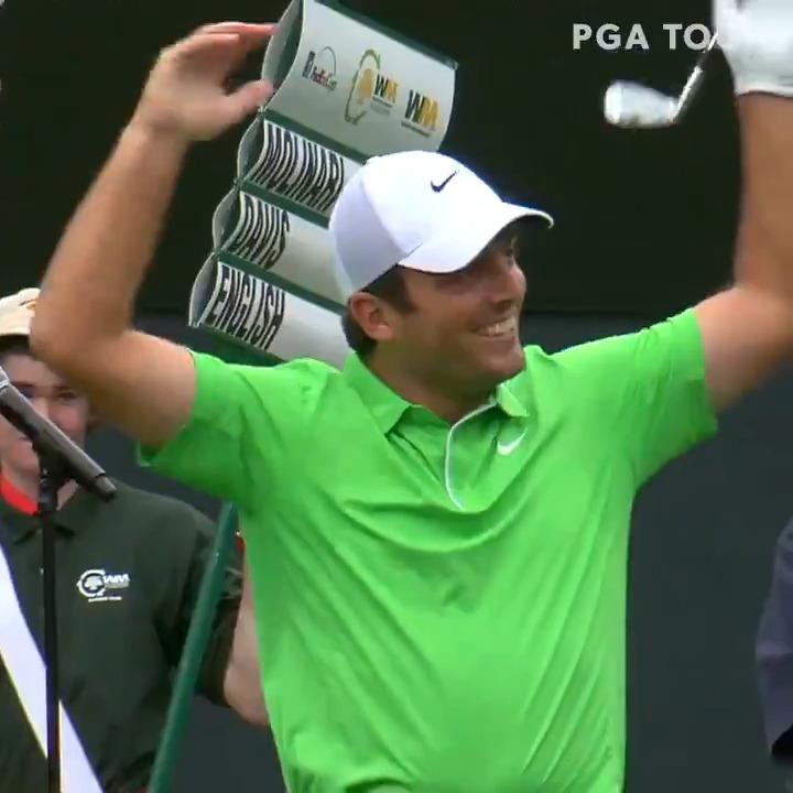 Replying to @PGATOUR: Golf's loudest hole. 🗣️  #TOURVault