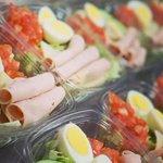 Image for the Tweet beginning: Salads + Eggs = BFFs!
