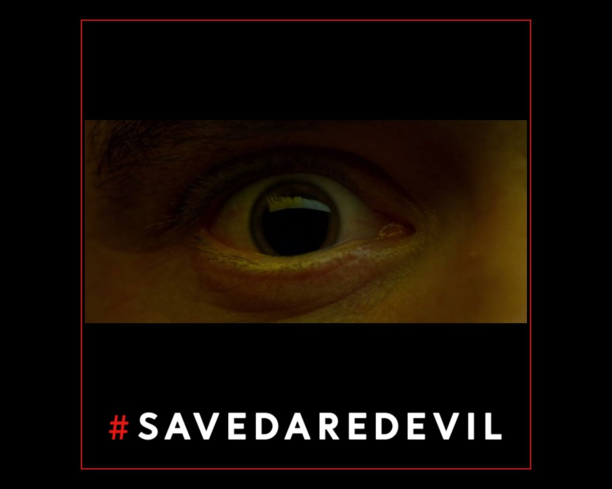 Replying to @Kristina4109: Because, to paraphrase Claire Temple, he is blind but he sees so much.  #SaveDaredevil