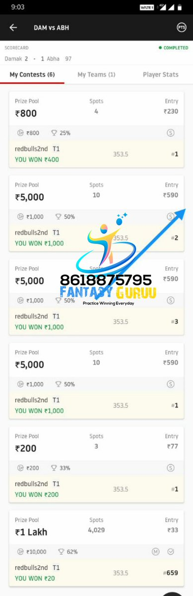 1more ultra cleansweep 🔥 🎉.7th win in a Row from #football matches🥳 For teams contact us at whatsapp 8618875795. #Dream11  #dream11teams  #dream11tips #ISL  #t20 #AUSvIND  #NZvWI  #SAvENG #LPL2020  #BBL10 #LPLT20 #NBA2K21 #NBA #INDvAUS  #TeamIndia  #ChampionsLeague  #CBAleague
