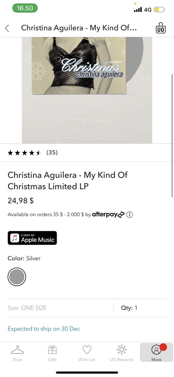@UrbanOutfitters WHAT THE ACTUAL F*CK rescheduled to December 30th it's been rescheduled 6-7 times or so, and it was supposed to be released November the 3rd, and some people seem to have already received it WHAT IS GOING ON! ☹️#MKOC #MyKindOfChristmas ❤️