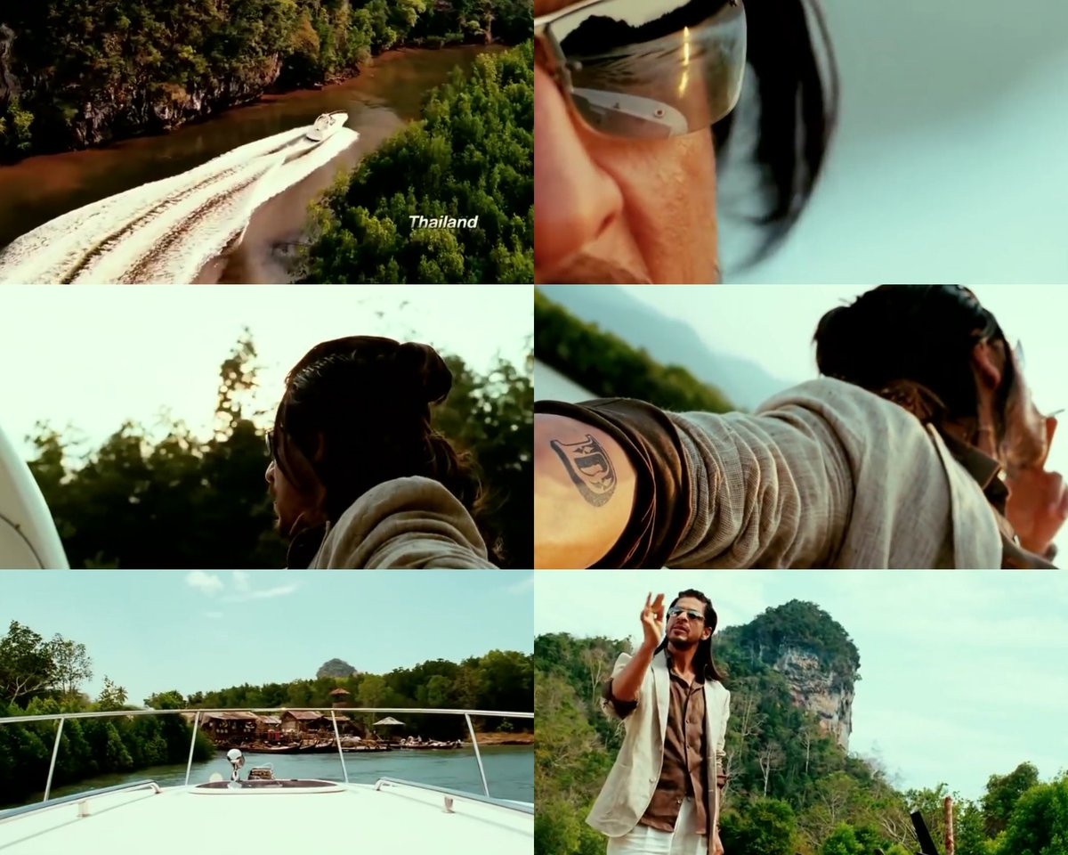 Replying to @SRKian_Shamail7: RT @srksfp: One of the best entry scenes in bollywood ever! One of those scenes where you get goosebumps and you literally thank God that you came for the movie (I know I did)😂❤️💣💥 @iamsrk  #9YearsOfDon2
