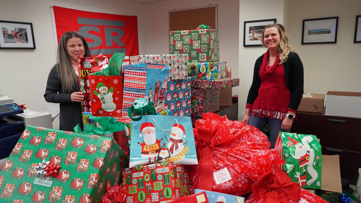 Sul Ross State University partnered with Frontier CASA and the Angel Tree program to help sponsor and donate presents to 50 West Texas children this Christmas.  Thank you to all our wonderful departments who participated!