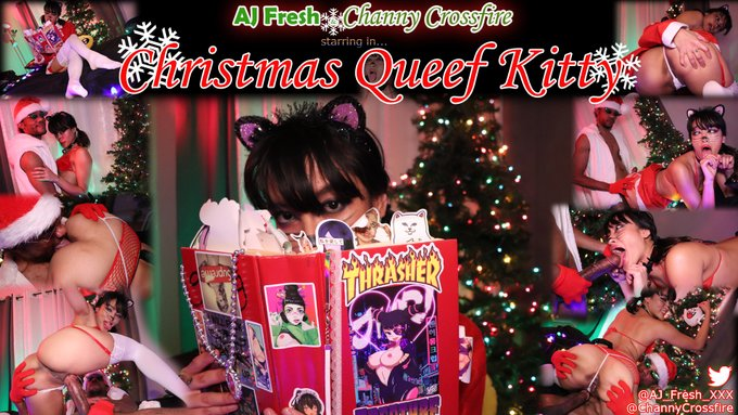 4 pic. Were you good girls n boys this year?  AJ Clause might have a few more gifts for you if you're