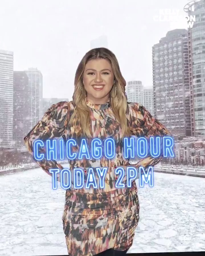 Celebrating the Windy City! Tune in today for #ChicagoHour at 2p on @nbcchicago 🏙