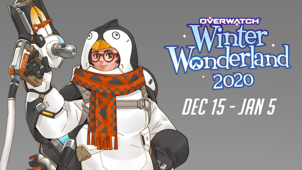 """A skin that captures a feeling of winter whimsy.""  Overwatch artists David Kang, Ben Gerowe and Kejun Wang unwrap the process behind two of this year's Winter Wonderland skins: Toybot Zenyatta and Penguin Mei.  🐧 :"