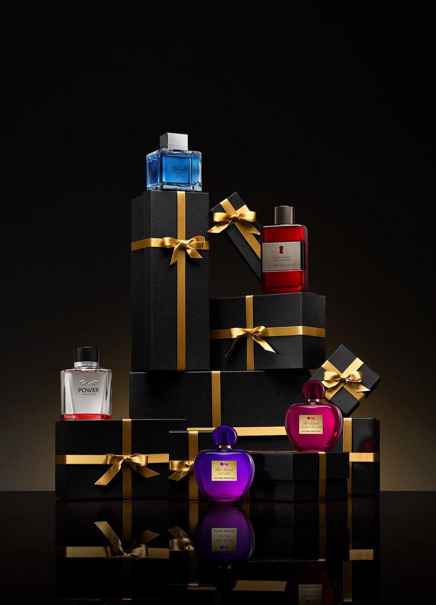 Tú eres mi regalo perfecto.  You're my perfect gift.    #AntonioBanderasPerfumes