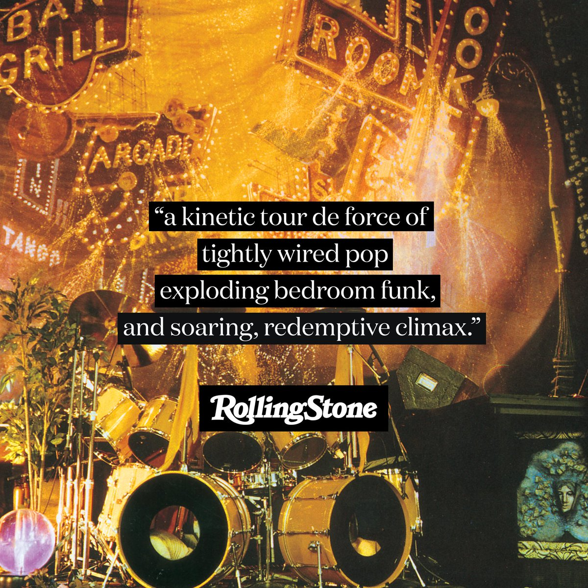"""Rolling Stone also highlighted #PrinceSOTT Super Deluxe Edition among the Best Reissues of 2020, hailing the album as """"a kinetic tour de force of tightly wired pop, exploding bedroom funk, and soaring, redemptive climax."""""""