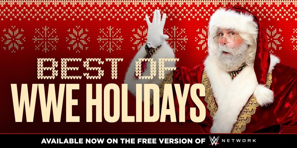 Watch WWE The Best Of The Holidays 12/19/20