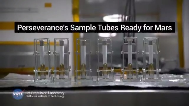 I'm on a one-way mission to Mars, but the samples I collect there will be the first things ever to make a round trip. In the search for signs of ancient life on Mars, see how super-clean sample tubes make for super-clean science.    #CountdownToMars
