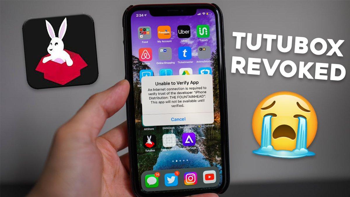 BAD NEWS: TutuBox & AppValley Already REVOKED! 😭 youtu.be/ajUDTHBVRKc