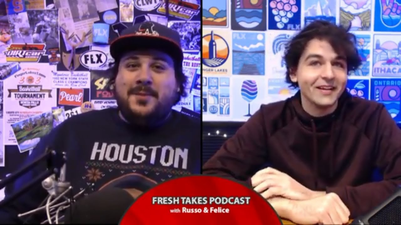 FRESH TAKES w/ RUSSO & FELICE: 2020 Year in Sports (podcast)