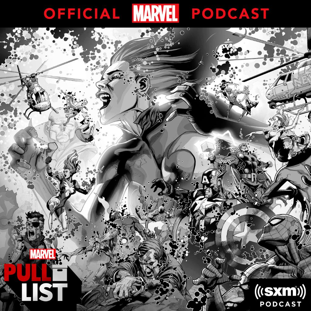 """Marvel: Preview this week's new comics, plus writer @TiniHoward and executive editor @TomBrevoort go undercover to talk about 2008's """"Secret Invasion"""" on this #MarvelsPullList episode! Listen now @SiriusXM:"""