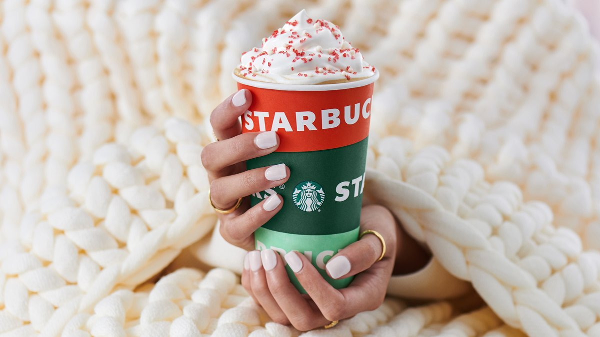 Hold cheer near and dear. 🤍 Toasted White Chocolate Mocha