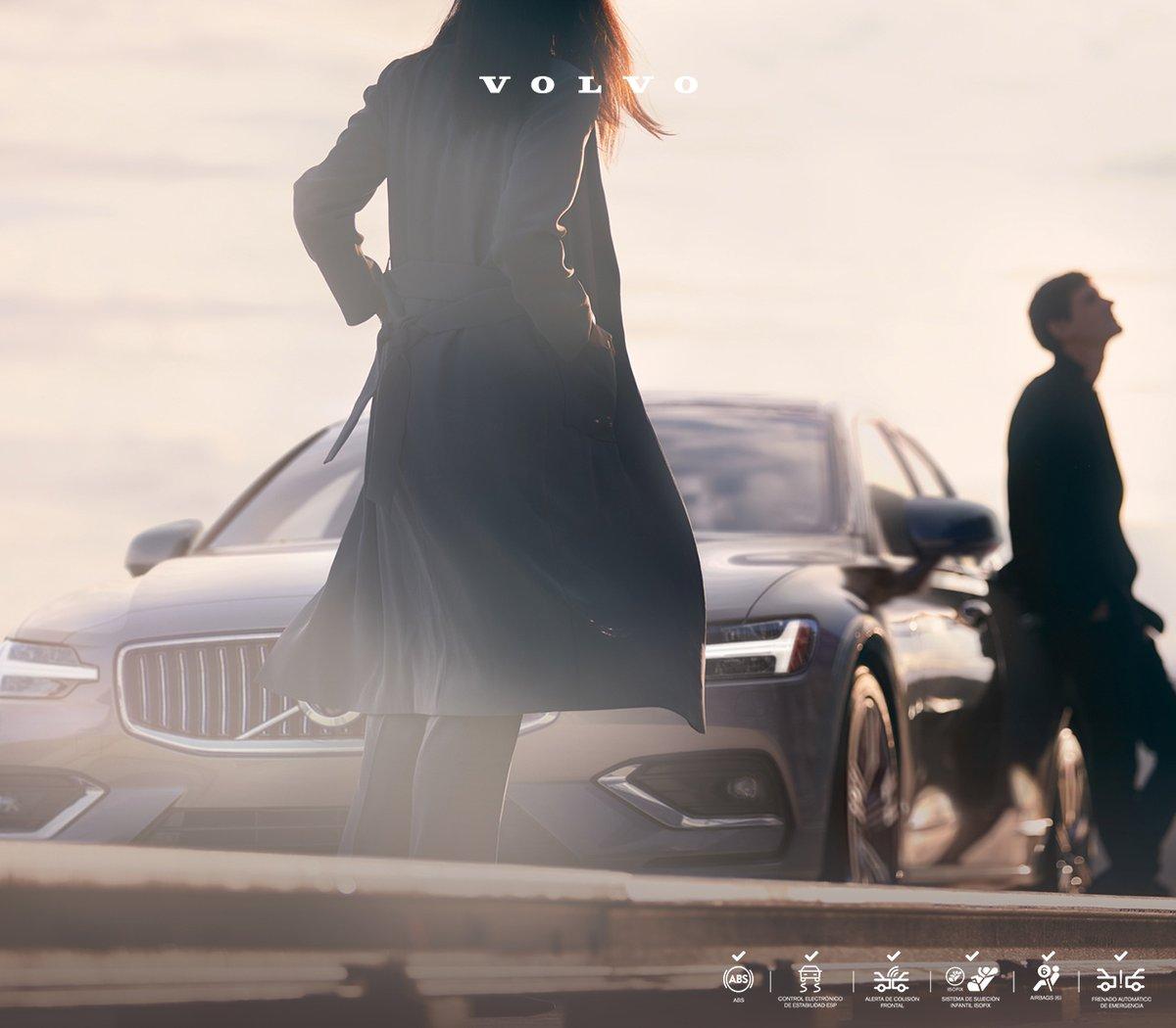Toma una pausa y disfruta del paisaje con tu compañero de viaje. En carretera, el #VolvoS60  te protegerá  para llegar a salvo a tu destino, gracias a décadas de innovación en seguridad. #TuFuturoNuestroCamino