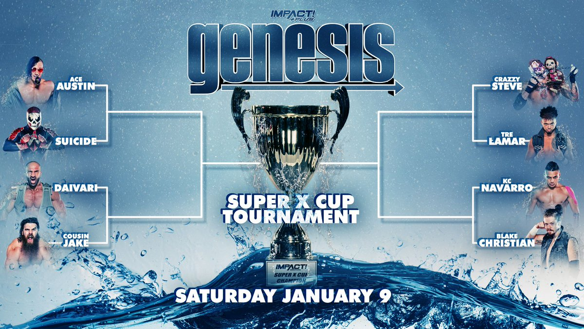 Bracket Revealed For The Impact Super X Cup Tournament