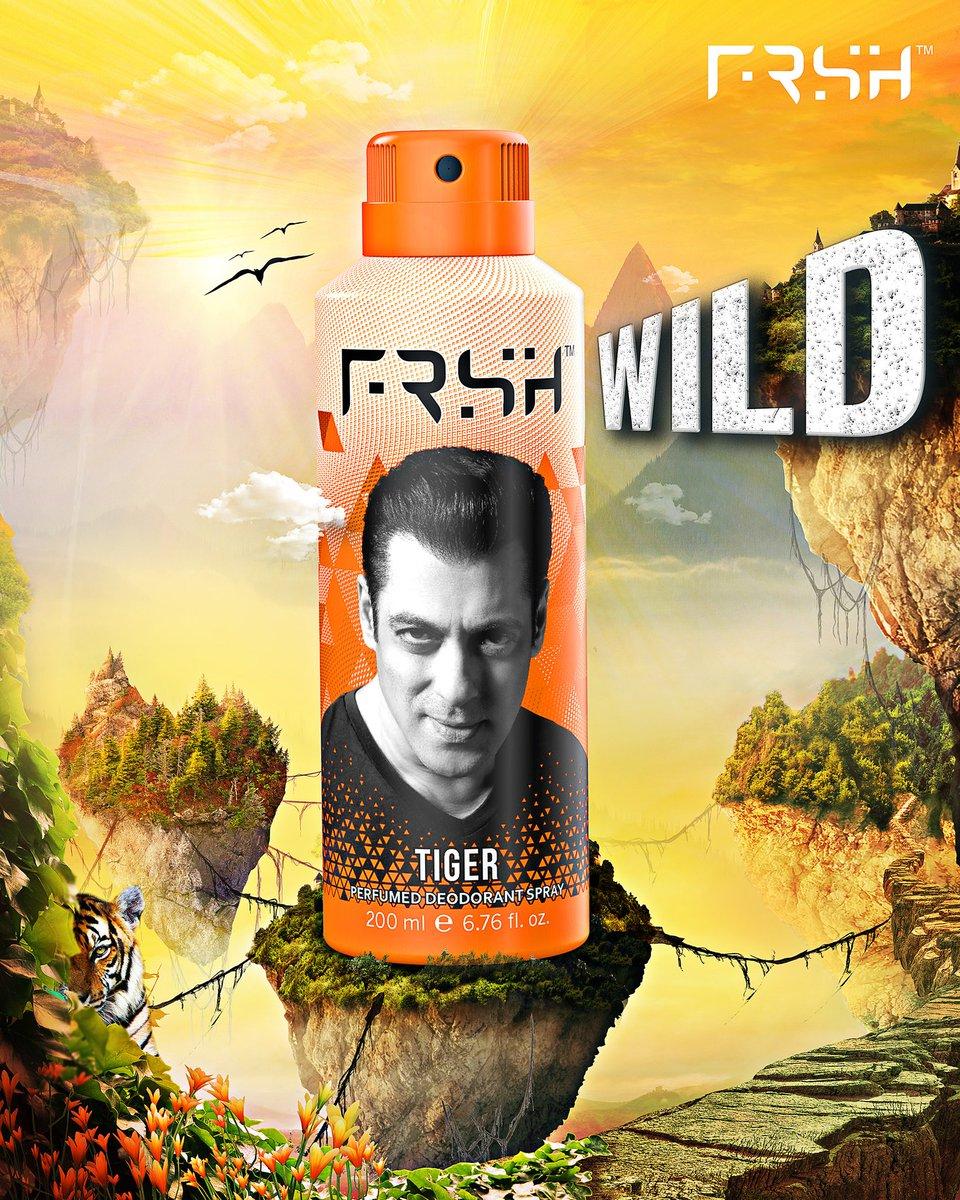 Har din ek naya tevar.  Har din ek naya josh!  Aapke apne FRSH deodorants; get them from the link in my bio!  #rahofrshrahosafe