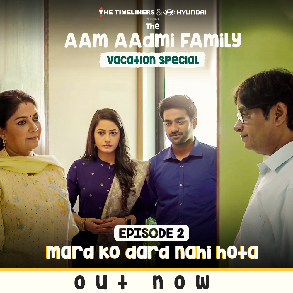 Episode 2 out. Watch now: youtu.be/5J16P6B_ErY #TheAamAadmiFamily #VacationSpecial #Episode2Out