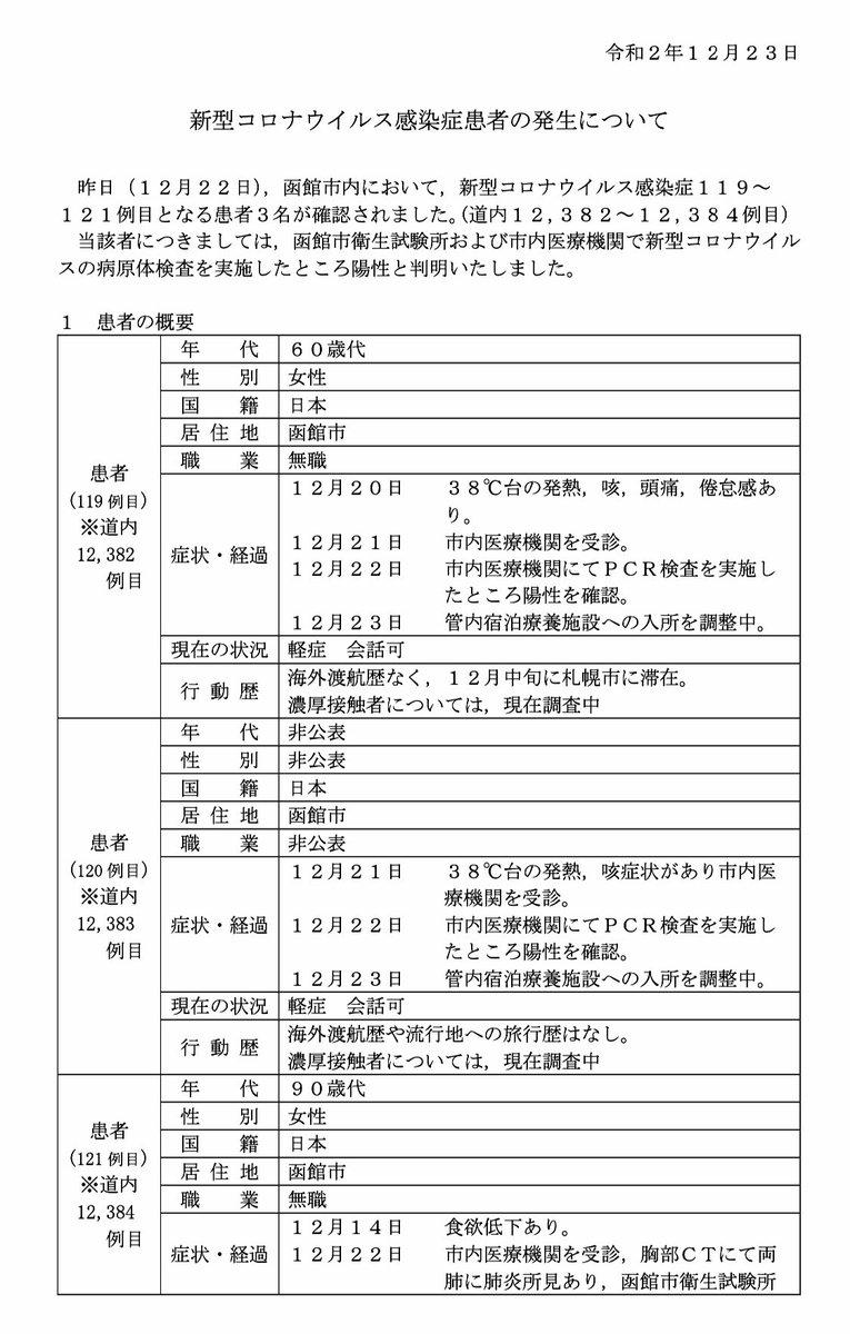 情報 函館 119 災害 函館