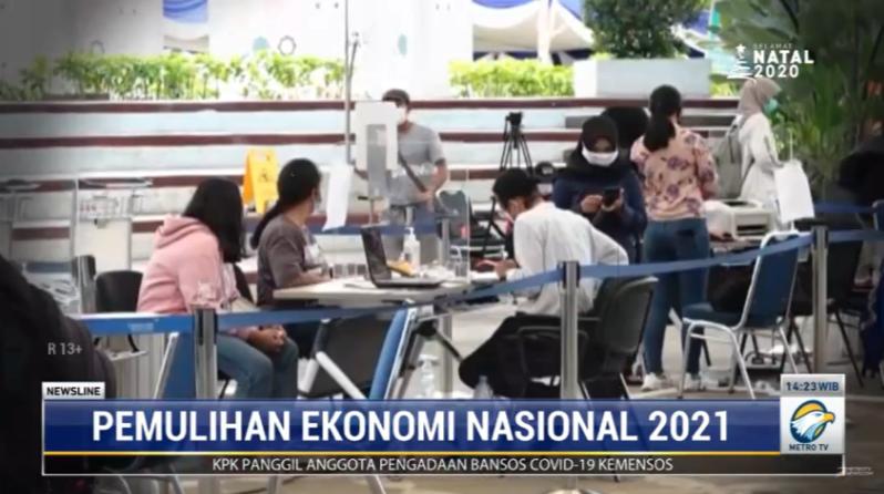 #NewslineMetroTV Pemerintah memastikan ekonomi Indonesia segera bangkit dari keterpurukan akibat pandemi pada tahun 2021 mendatang. Optimisme ini ditopang berbagai langkah reformasi struktural yang dilakukan pemerintah tahun ini. Streaming: