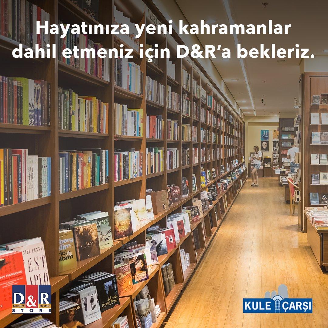 Kendinize vakit ayırıp yeni bir kitaba başlamak ya da sevdiklerinize en güzel hediyeyi vermek için en doğru tercih D&R'da. Kule Çarşı'da bulunan D&R mağazasını ziyaret etmeyi unutmayın.  #D&R #işkuleleri #levent#işgyo#isgyo https://t.co/MOYtPTnmEO