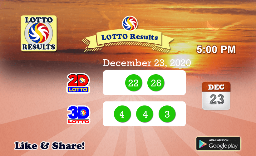 Pcso Lotto Results Fedlottoresults טוויטר