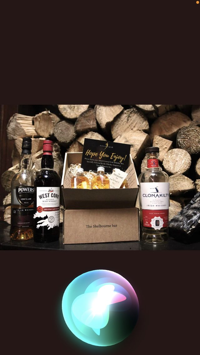 We have our Irish whiskey gift boxes available up 2pm Christmas Eve @theshelbourne , click and collect on our website  #lastminutegift