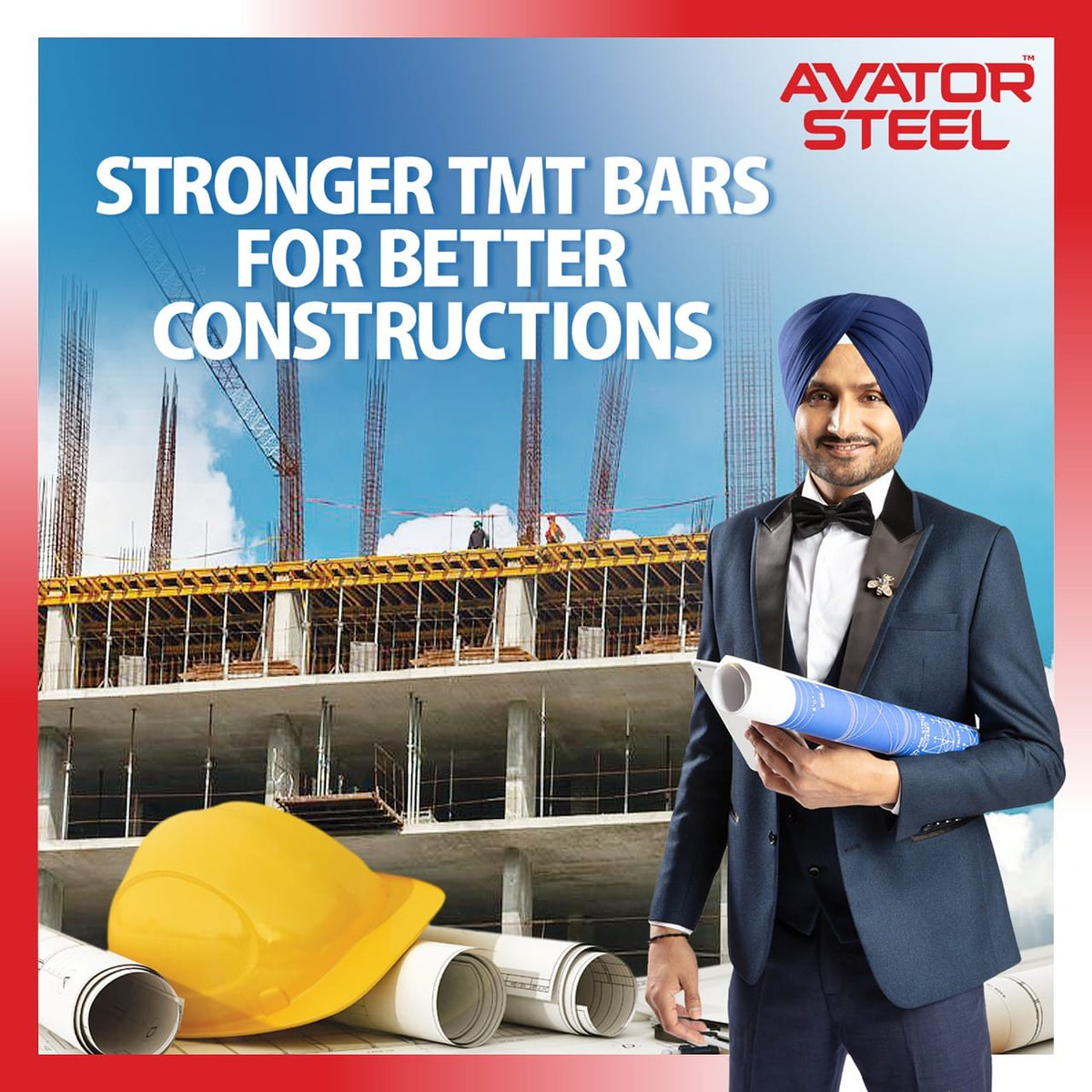@AvatorSteel tmt bars are miles ahead of the competition. Giving your home the ultimate protection from fire or rust, #AvatorSteel ensures that your home stands strong for generations.   #AvatorSteel #HarbhajanSingh   @harbhajan_singh