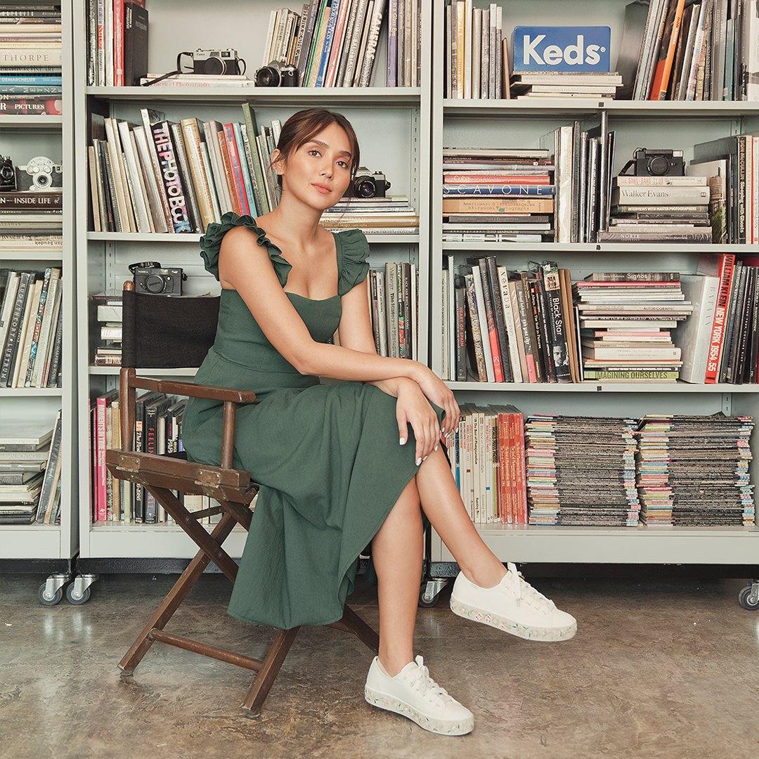 Cheers to staying-in celebrations in comfy shoes 🍾🥂 #KathforKeds #Kedsstyle  Shop a pair at Keds stores, online at , or through the Keds Ph Viber community, and our personal shoppers will assist you! Join here:   @bernardokath