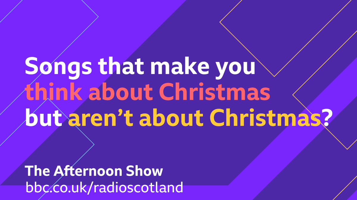 For today's #TopicalTune we're looking for the songs that make you think about Christmas, but aren't about Christmas!  Let us know your suggestions 👇  #TheAfternoonShow with @GrantStottOnAir from 1:30pm   🔈