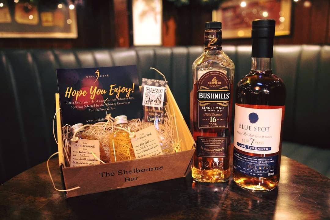 Looking for a last minute gift?  Our Irish Whiskey Gift Boxes are available.  Just head to our website and choose click and collect. Collection is available until 2pm on Christmas Eve!   #shoplocalcork