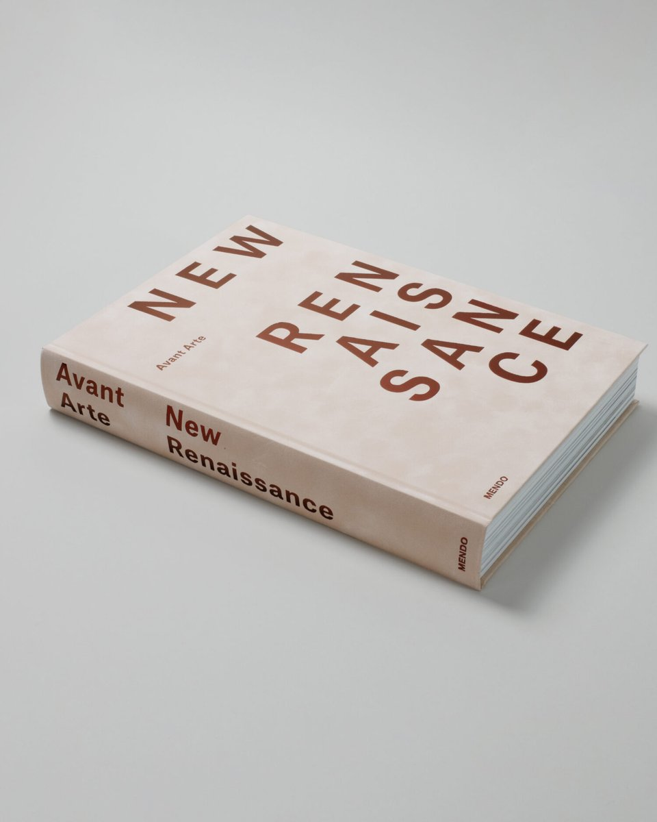 Avant Arte @avant_arte and MENDO @mendobooks present: Avant Arte, New Renaissance. Highlighting 15 international artists in their studios, this book offers an insight into the new direction of the international art world. Limited to 999 copies world-wide