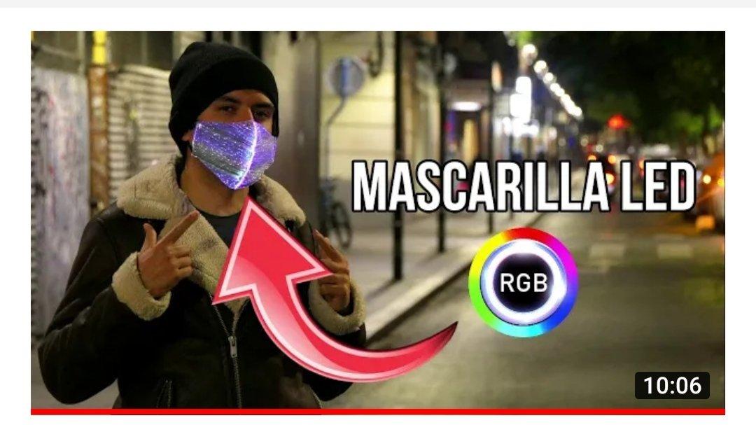 Mascarilla LED:   Siéntete en #NightCity siendo #v de #Cyberpunk o úsalo como #regalo esta #Navidad Pongamos luz a la #pandemic 😉 #Cyberpunk2077 #Anitwt #BuenosDias #COVID19 #FelizMiercoles #Navidades #Navidad2020 #QuedateEnCasa #ULTIMAHORA #XboxSeriesX #z