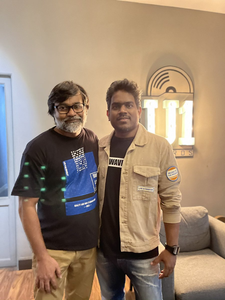 Extremely happy to join hands for 8th time with @thisisysr !!  @dhanushkraja  Kalaippuli S Thanu  @theVcreations